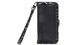 Mobilize Gelly Wallet Zipper Samsung Galaxy A71 Cover Black Snake