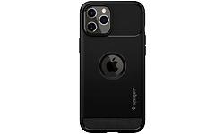 Spigen Rugged Armor Apple iPhone 12 Pro Max Back Cover Black