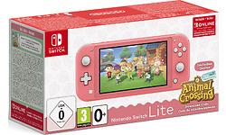 Nintendo Switch Lite + Animal Crossing Pink
