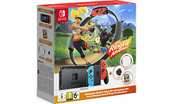 Nintendo Switch Red/Blue + Ring Fit Adventure