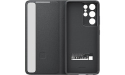 Samsung Galaxy S21 Ultra Cover Smart Clear View Cover Black