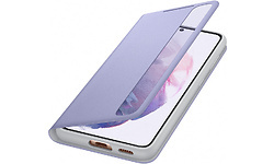 Samsung Galaxy S21 Clear View Book Case Purple