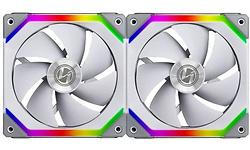 Lian Li Uni Fan SL140 RGB PWM 140mm White 2-pack