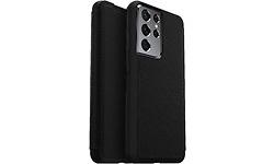 Otterbox Strada Samsung Galaxy S21 Ultra Book Case Leather Black