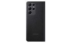 Samsung Galaxy S21 Ultra LED View Booktype Black
