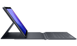 Samsung Galaxy Tab A7 Book Cover Keyboard Grey