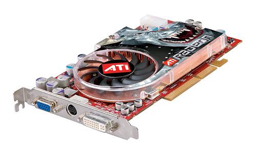 ATI Radeon X800 XT Platinum Edition AGP