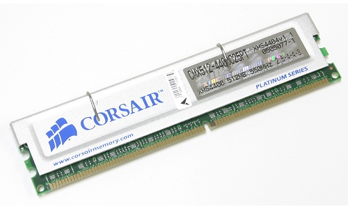 Corsair TwinX 1GB DDR550 kit