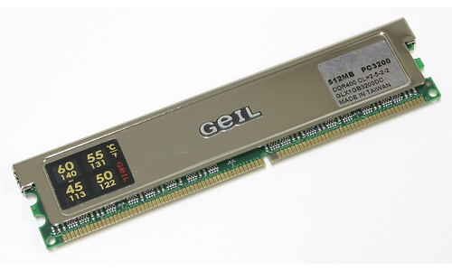 Geil UltraX 1GB DDR400 kit