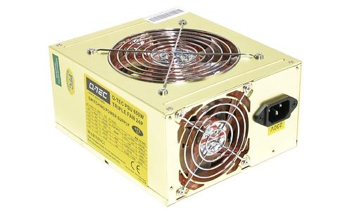 Q-Tec PSU 650W Triple Fan