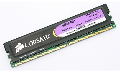Corsair Twin2X 1GB DDR2-1066 kit