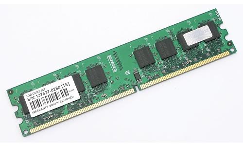 Transcend 2GB DDR2-667 kit
