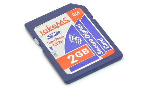 takeMS Hyper Speed 133x SD 2GB