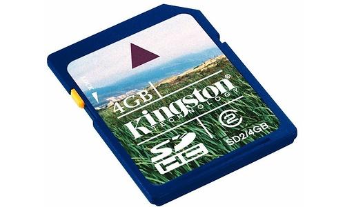 Kingston SDHC Class 2 4GB