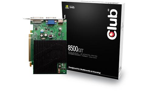 Club 3D GeForce 8500 GT Silent