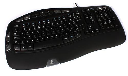 Logitech Wave Corded keyboard