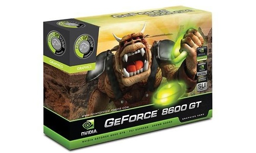 Point of View GeForce 8600 GT 256MB