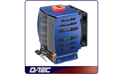 Q-Tec Water Cooler AMD Heatpipe Aluminium