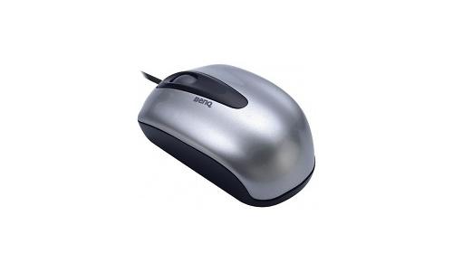 BenQ N300 Mini optical mouse Silver