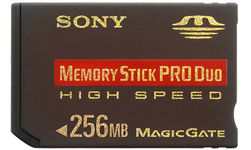 Sony Memory Stick Pro Duo High Speed 256MB