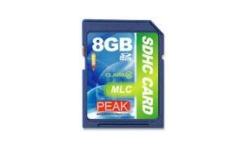 Peak SDHC MLC Class 6 8GB