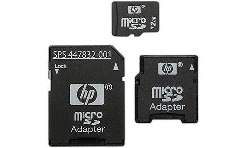 HP MicroSD 2GB