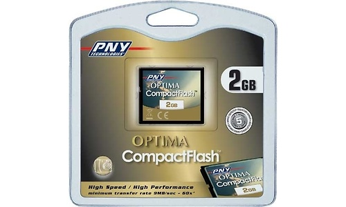 PNY Compact Flash Optima High Speed 2GB