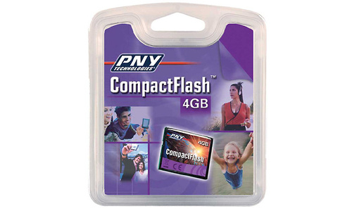 PNY Compact Flash Optima High Speed 4GB