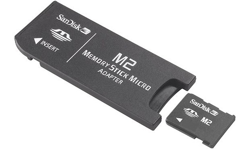 Sandisk Memory Stick Micro M2 512MB
