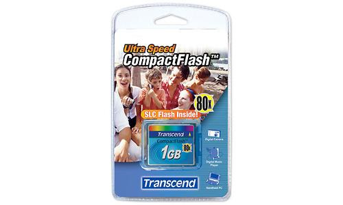 Transcend Compact Flash 80x 1GB