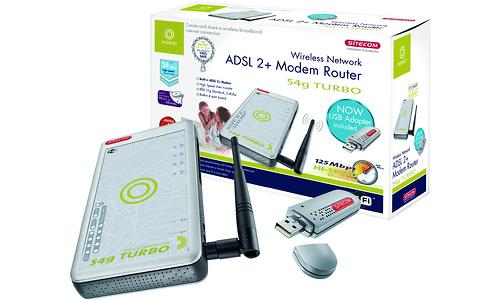 Sitecom ADSL 2+ Modem Router 54g TURBO Annex A