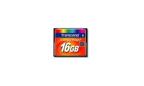 Transcend Compact Flash 133x 16GB