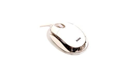 Saitek Notebook Optical Mouse Cream