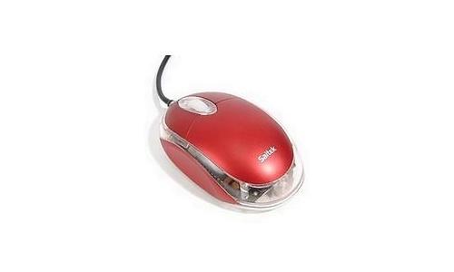 Saitek Notebook Optical Mouse Red
