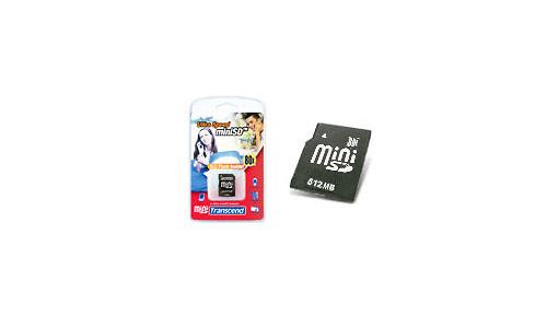Transcend MiniSD 80x 512MB