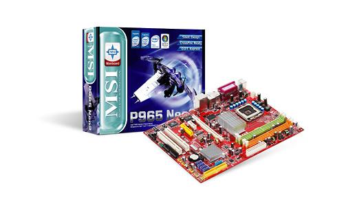 MSI P965 Neo-F V2