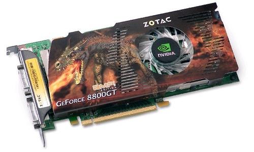 Zotac GeForce 8800 GT AMP! 512MB GDDR3