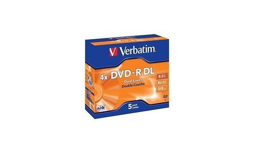 Verbatim DVD-R DL 4x 5pk Jewel case
