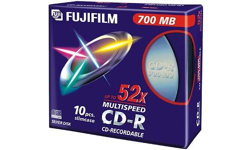Fujifilm CD-R 52x 10pk Slim case