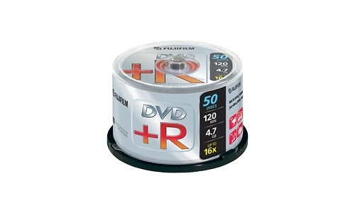 Fujifilm DVD+R 16x 50pk Spindle