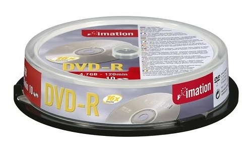 Imation DVD-R 16x 10pk Spindle