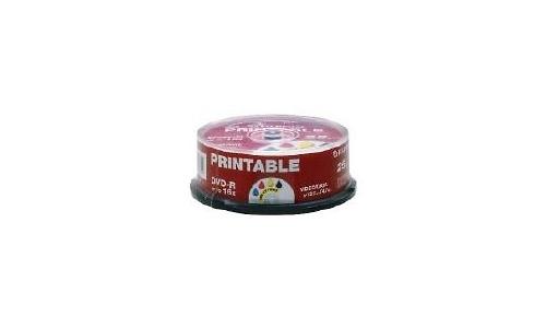 Fujifilm DVD-R 16x 50pk Printable Spindle
