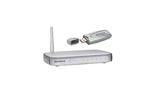 Netgear 54Mbps Wireless Router + USB adapter