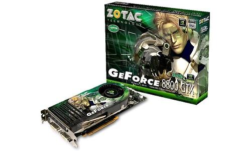 Zotac GeForce 8800 GTX AMP! 768MB
