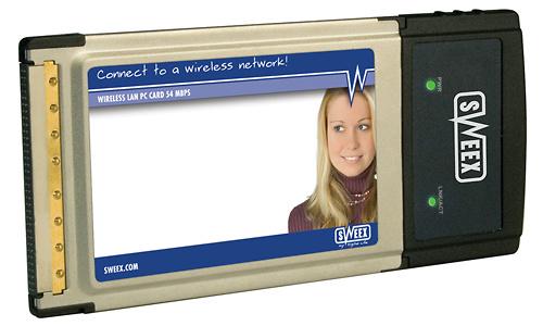 Sweex Wireless LAN PC Card 54Mbps