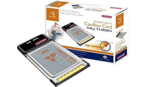Sitecom Wireless Network Cardbus Card 54g Turbo
