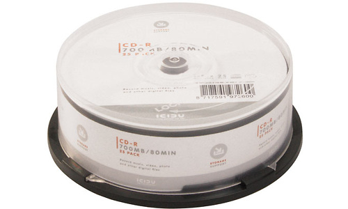 Icidu CD-R 52x 25pk Spindle