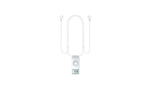 Apple iPod nano Lanyard Headphones 2. Gen. Alu