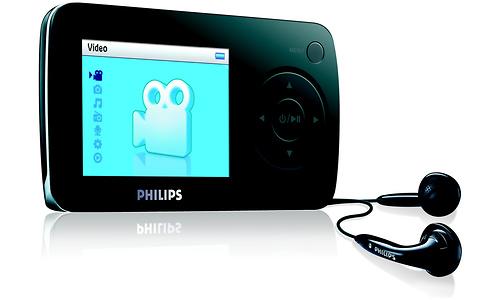 Philips Video Player 1GB Black