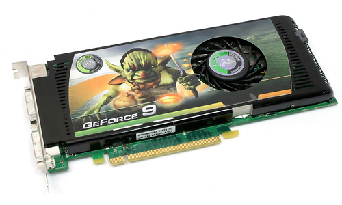 Point of View GeForce 9600 GT 512MB